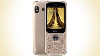 LAVA A5 Republic Day Limited Edition Feature Phone Launched in India For Rs 1,449; To Go on Sale From January 16 Onwards