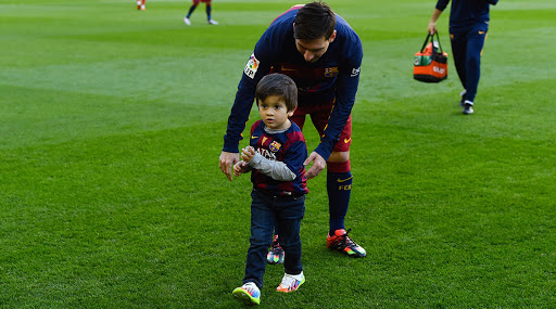 Lionel Messi's Eldest Son Thiago Scores Brilliant Goal For Barcelona, Video Goes Viral