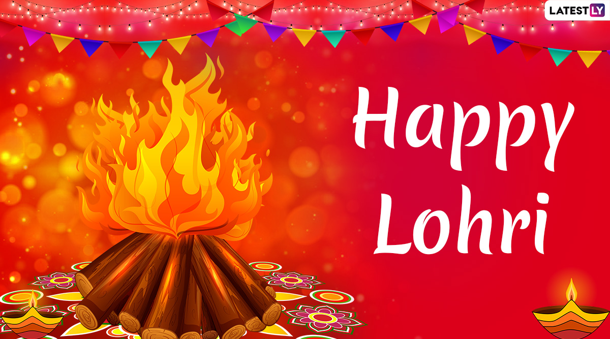 Lohri 2020 Wishes in Punjabi: WhatsApp Stickers, GIF Images, Lohri Wishes, Messages, SMS, Quotes & HD Wallpapers To Send on Punjabi Festival