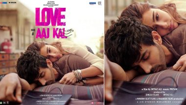 Love Aaj Kal Poster: Kartik Aaryan-Sara Ali Khan as 'Veer' and 'Zoe' Are Here To Make Valentine's Day 2020 Mushier! (View Pic)