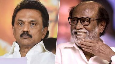 Periyar Controversy in Tamil Nadu: MK Stalin Advises Rajinikanth to 'Think And Speak' About Father of 'Dravidian Movement'