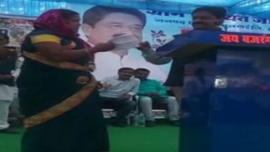 Madhya Pradesh Woman Confronts State Minister Sukhdev Panse, Reminds Him of Poll Promises
