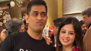 Sakshi Dhoni Gives Update on Health of MS Dhoni's Parents After They Tested COVID-19 Positive