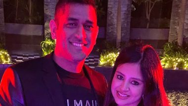 MS Dhoni Welcomes New Year 2020 With Wife Sakshi, View Pic of Stylish Couple on Instagram