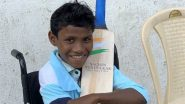 Sachin Tendulkar Is In Awe of Madda Ram Kawasi, Gifts Bat With Heartwarming Note to Specially-Abled Boy Who Won Internet With His Passion For Cricket!