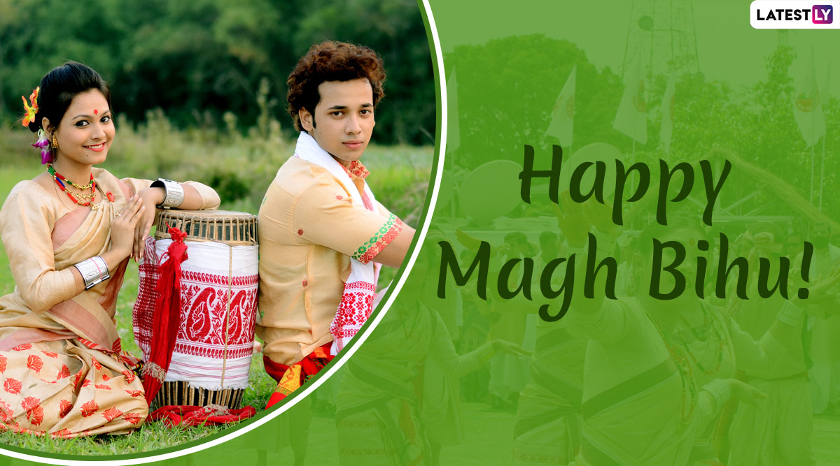 Magh Bihu 2020 Wishes & Greetings: WhatsApp Stickers, HD Images, Hike GIF Messages, SMS and Quotes to Wish on Bhogali Bihu