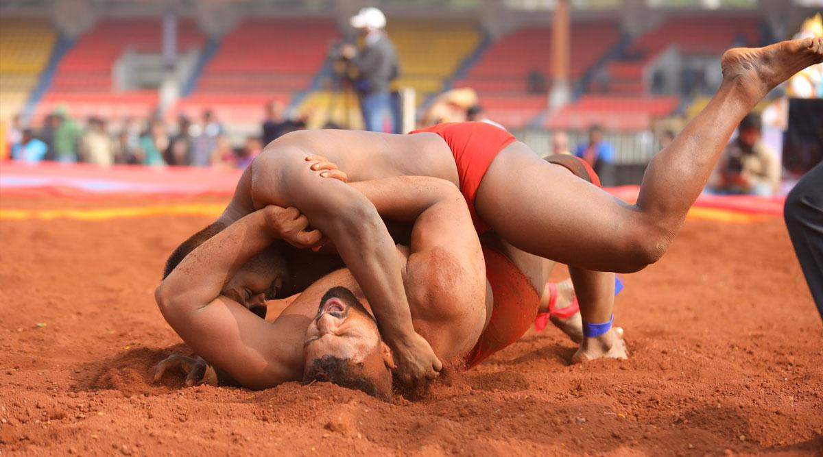 Maharashtra Kesari Kusti 2020 Winner: Harshvardhan Sadgir Beats Shailesh Shelke in Final of Wrestling Championships