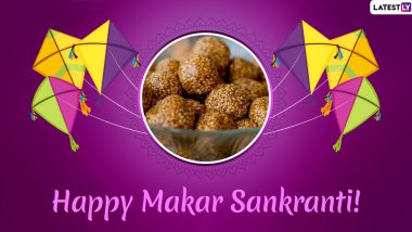 Makar Sankranti 2020 Wishes & Til Gul Images: WhatsApp Stickers, GIF Greetings, Messages, Quotes and SMS to Wish on Uttarayan