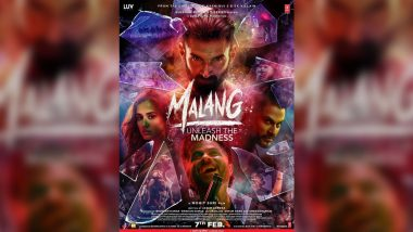 Malang New Poster Featuring Aditya Roy Kapur, Disha Patani, Anil Kapoor, Kunal Kemmu Released Ahead of Trailer, Highlighting the 'Madness' in Shards of Broken Glasses