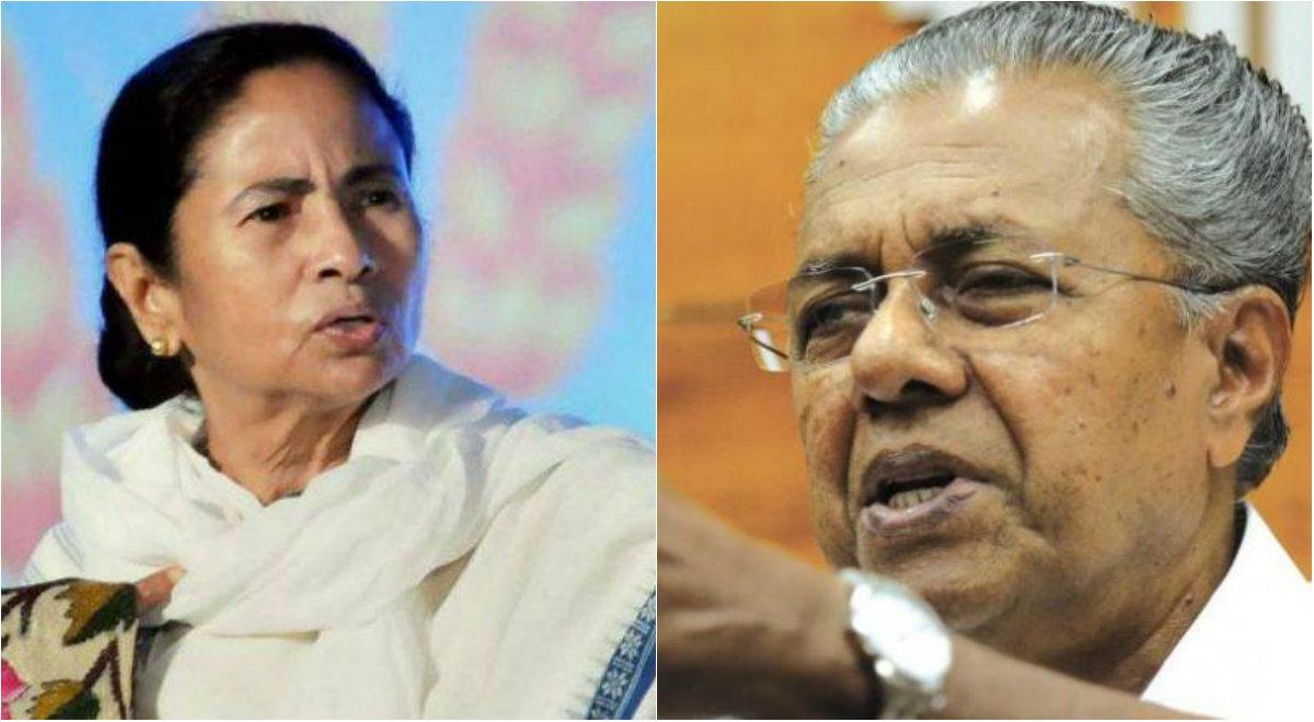 Mamata Banerjee, Pinarayi Vijayan to Skip Meeting on NPR Called by Centre on January 17: Reports