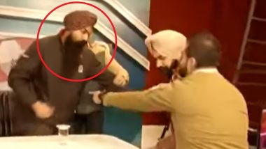 Chandigarh Shocker: Man Confesses to Killing Girlfriend Over Affair on Live TV, Police Arrest Him Mid-Interview (Watch Video)