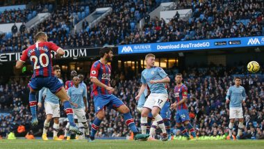 Manchester City 2-2 Crystal Palace, Premier League 2019-20 Result: Fernandinho Late Own Goal Dents Defending Champions' Title Hopes