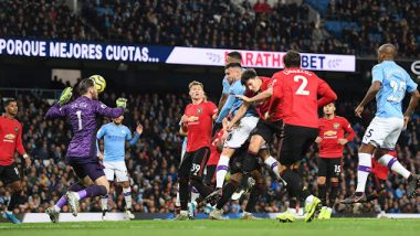 Manchester United vs Manchester City Head-to-Head Records: Ahead of EFL Cup 2019-20 Clash, Here're Match Results of Last 5 Manchester Derbies