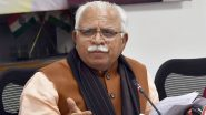 Farmers March to Delhi: 'Stop Inciting Them', Haryana CM ML Khattar Hits Out at Punjab CM Amarinder Singh