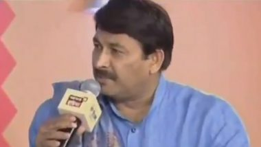 Delhi Assembly Elections 2020: Was Manoj Tiwari Aware of Dates Before EC Announcement? Netizens Share Video of His TV Interview From Last Month