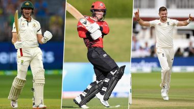 Cricket Week Recap: From Leo Carter's Six Sixes to Marnus Labuschagne's Double Hundred to James Anderson's Record Fifer, a Look at Finest Individual Performances