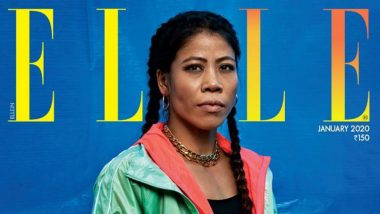 Mary Kom Turns Cover Girl For Elle India January 2020 Issue, Gets Introduced by Priyanka Chopra Jonas (View Pics)