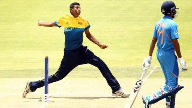 Did Matheesha Pathirana Bowl All-Time Fastest Delivery During India vs Sri Lanka ICC Under-19 Cricket World Cup 2020 Match? (Watch Video)