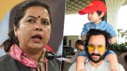 BJP Spokesperson Meenakshi Lekhi Taunts 'Taimur' Over Saif Ali Khan's Statement on History