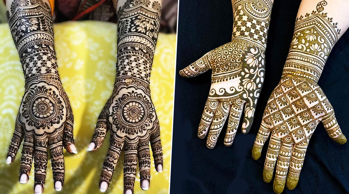 Latest Makar Sankranti 2020 Mehndi Designs: From Rajasthani Style to Arabic, Mehandi Patterns To Apply on Hands For Auspicious Harvest Festival of India
