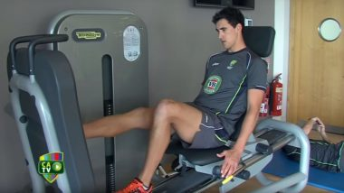 Mitchell Starc's Workout: Check Out The Ultimate Exercise Routine That Keeps The Australian Pacer Fit and Feisty On The Field