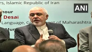 India, Iran Must Work to Expedite Chabahar Port's Development, Connectivity to Afghanistan, Says FM Javad Zarif