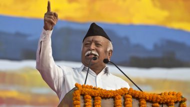 Mohan Bhagwat Pitches For Two-Child Law at RSS Event, NCP Says 'We Have Seen Repercussions of Vasectomy in Past'
