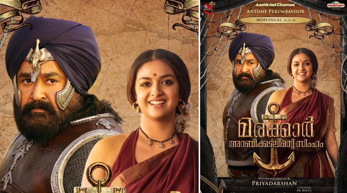 Mohanlal's Marakkar: Arabikadalinte Simham New Poster Reveals Keerthy Suresh's Look In Priyadarshan Epic Film