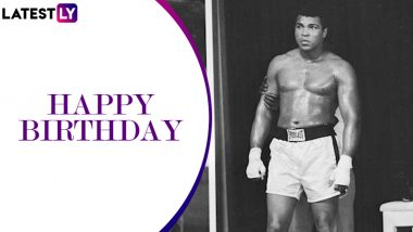 Muhammad Ali Birthday Special: Interesting Facts About the Boxing Legend