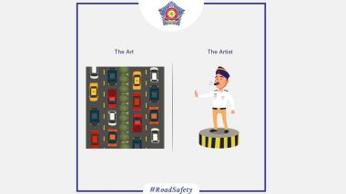 #TheArtVsTheArtist: Mumbai Police Praises Cops For The 'Art of Traffic Policing'
