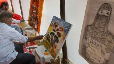 Mumbai Artists Take Up Brush & Paint to Protest Against CAA, NRC