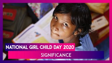 National Girl Child Day 2020: History, Significance Of The Day Celebrated On January 24