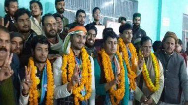 Sampurnanand Sanskrit Vishwavidyalaya Students Union Elections 2020 Results: NSUI Wins All 4 Positions in Varanasi Varsity Polls