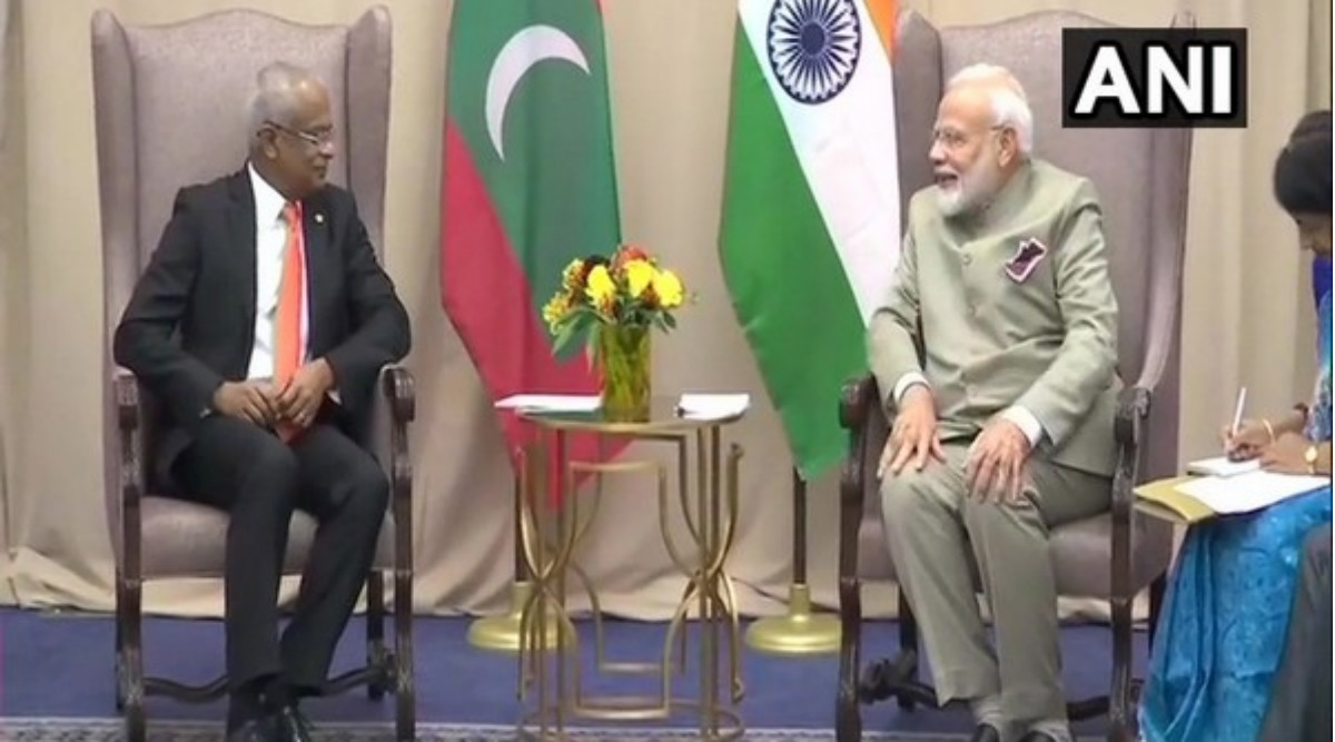 Narendra Modi Extends New Year Greeting to Maldivian President Ibrahim Mohamed Solih
