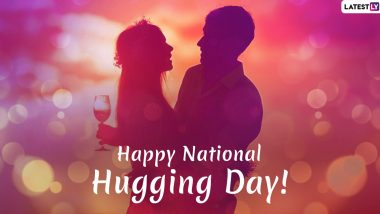 National Hugging Day 2019 Greetings: WhatsApp Stickers, Facebook Status, GIF Images, Quotes, SMS And Messages to Send Your Loved One