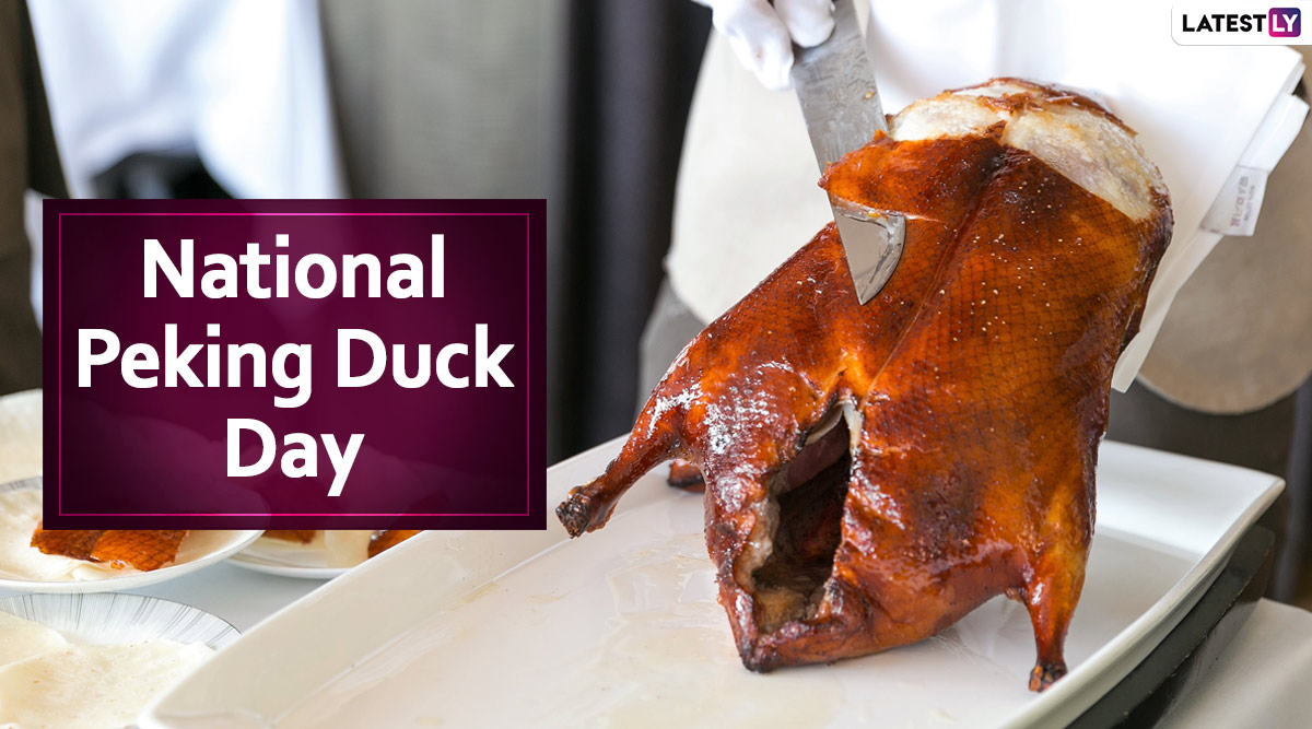 National Peking Duck Day 2020: Here's the Easiest, Step-by-Step Recipe to Prepare Beijing Roasted Duck at Home (Watch Video)