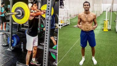 Navdeep Saini's Workout: Here's The Exercise Routine That Helps The Indian Bowler Become Menacing Speedster (Watch Videos)