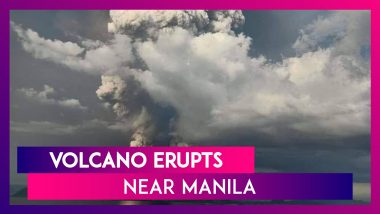 Taal Volcano Near Manila Spews Ash In To The Air, Philippines Warns Of Impending Eruption