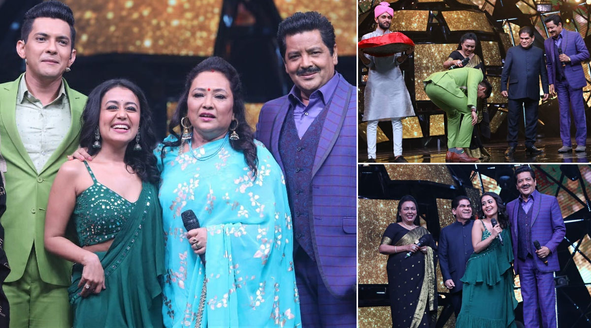 Indian Idol 11: Udit Narayan Approves Of Neha Kakkar and Son Aditya Narayan's Match