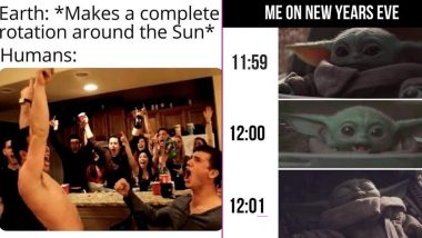 Happy New Year's Day 2020 Funny Memes: These Jokes on Bidding Goodbye to 2019 Will Keep Your Resolution of 'New Year, New Me-me'