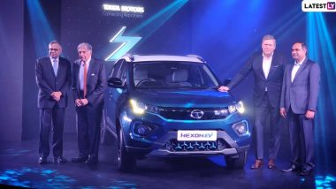 Tata Nexon EV SUV Launched in India With Starting Price of Rs 13.99 Lakh; Check Prices, Features, Variants & Specifications