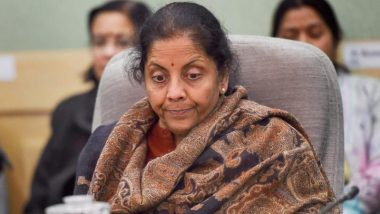 Finance Minister Nirmala Sitharaman Says Govt Is Readying an Economic Package to Combat COVID-19 Pandemic