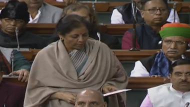 Economic Survey Tabled by Nirmala Sitharaman Ahead of Budget 2020-21, GDP Growth Pegged at 6-6.5 Percent