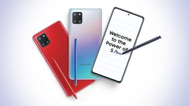 Samsung Galaxy Note 10 Lite Smartphones Launching Tomorrow in India; Prices, Features & Specifications