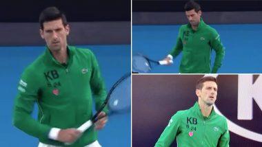 Novak Djokovic Pays Emotional Tribute To Late Kobe Bryant Defending Australian Open Champion Dons Jacket With Nba Legend S Initials On It Latestly