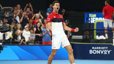 Novak Djokovic Defeats Rafael Nadal in ATP Cup 2020 Final to Set Up Deciding Doubles Clash Between Serbia and Spain