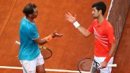 How to Watch Novak Djokovic vs Rafael Nadal Italian Open 2021 Final Live Streaming Online and Telecast in India?