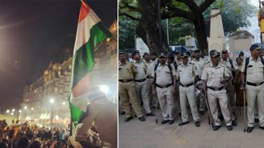 Mumbai Police Issues Statement, Says 'Protesters Were Relocated From Gateway of India to Azad Maidan in Peaceful And Professional Manner'