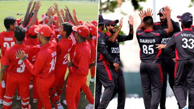 Live Cricket Streaming of Oman vs United Arab Emirates, ODI 2020 Online: Watch Free Live Telecast of ICC Cricket World Cup League 2 Series OMN vs UAE Match