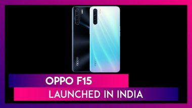Oppo F15 Smartphone With In-Display Fingerprint Scanner Launched In India; Check Price, Variants, Features & Specifications